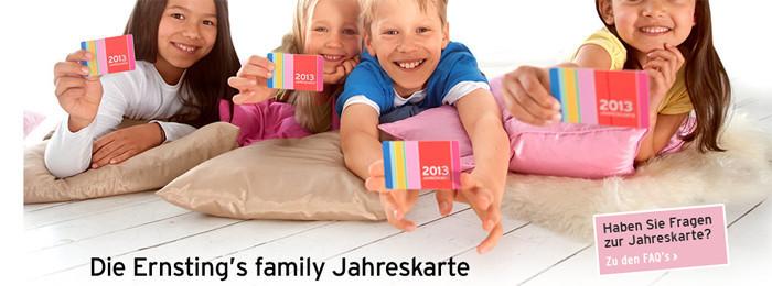 Ernstings-Family.de Jahreskarte