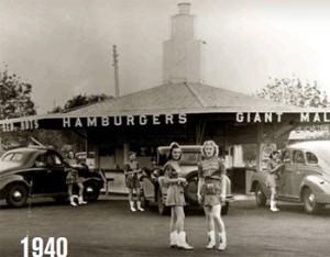 McDonalds Jahr 1940