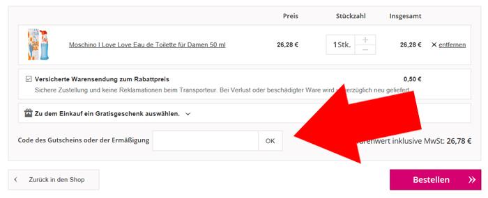 Notino Gutscheincode 10€